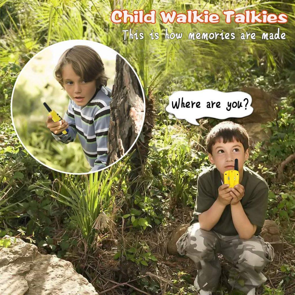 Tisy Talkies Walkie À Longue Portée pour Les Enfants Cadeaux