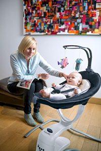 Cliquez pour ouvrir le point de vue élargi Babymoov Balancelle Bébé Swoon Motion Zinc