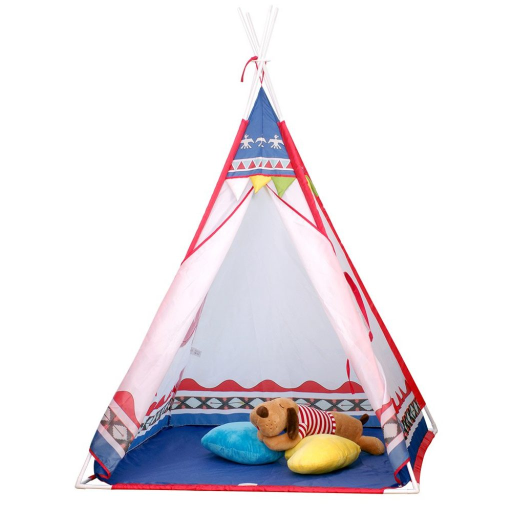 Vdo Vplay-Tente de Jouet et Maison de Jouet pour Les Enfants intérieur et extérieur (Bleu)