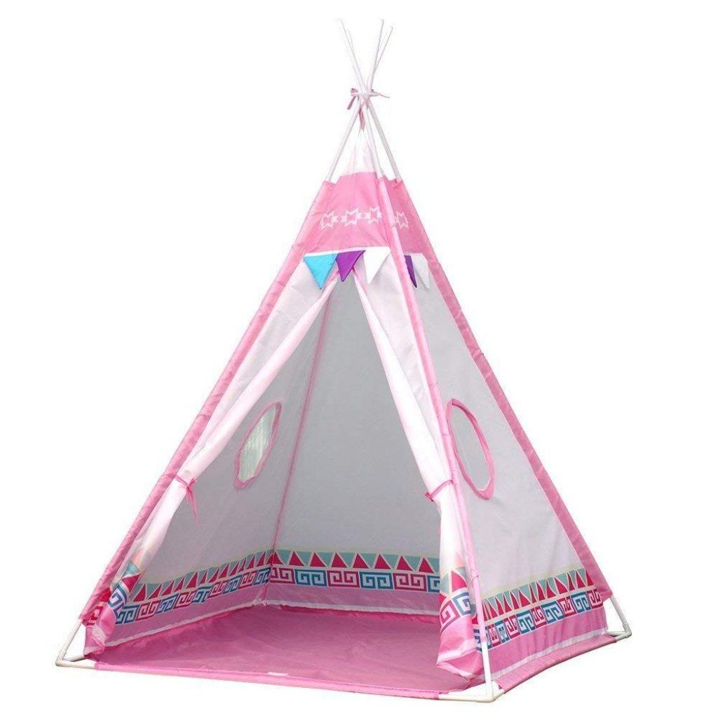 Vdo Vplay-Tente de Jouet et Maison de Jouet pour Les Enfants intérieur et extérieur (Rose)