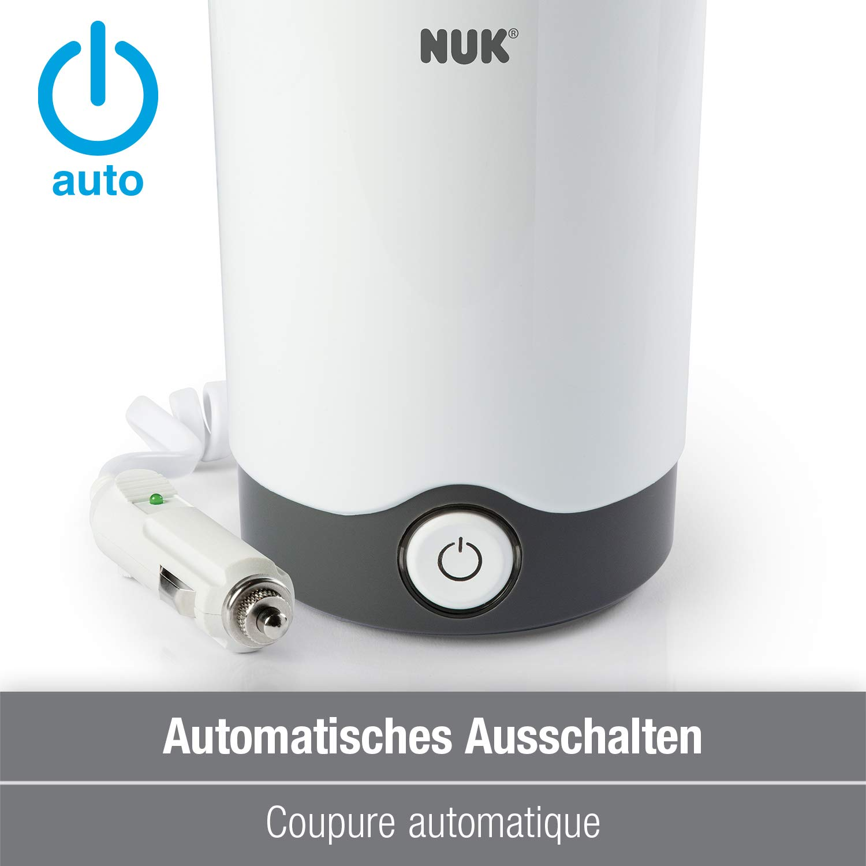 NUK Chauffe-Biberon Maison/Voiture Thermo Express, Chauffe en 90 Secondes