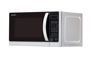 Sharp R-742INW Micro-ondes Gril 25 litres - Argent
