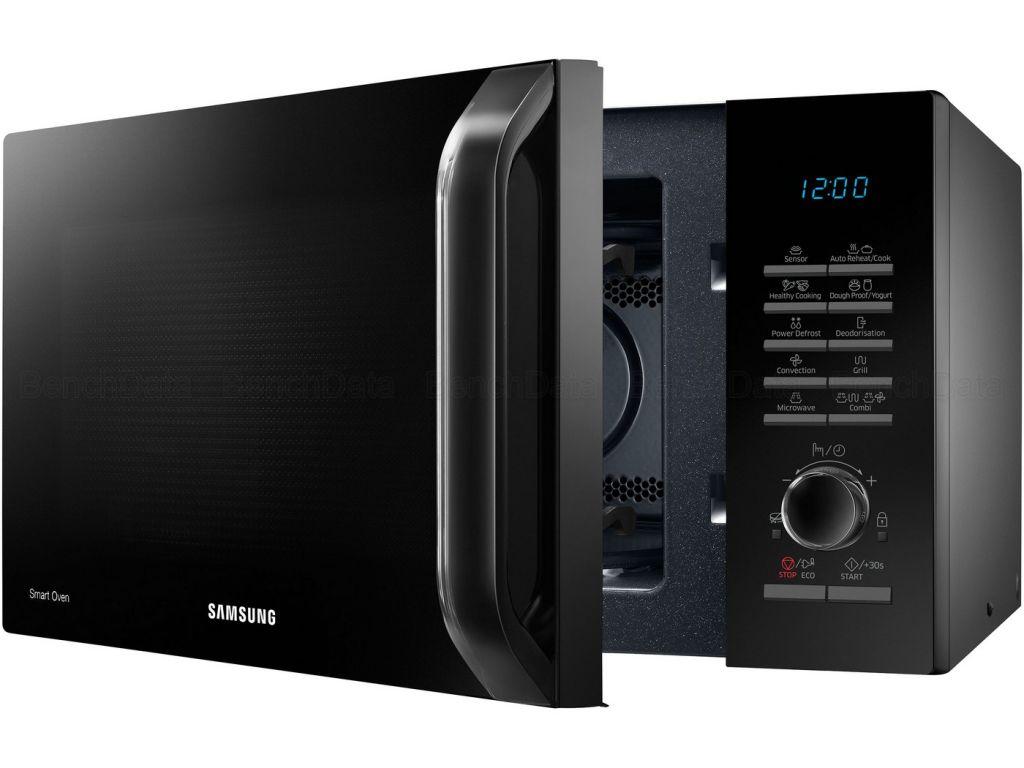 Samsung - mc28h5125ak - Four à micro-ondes grill et chaleur tournante 28l 1400w noir