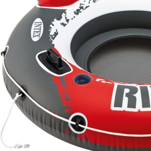 INTEX River Run Bouée Gonflable Roue Rouge