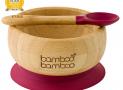 Test et Avis du Bol pour bébé avec ventouse Bamboo Bamboo